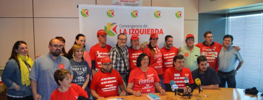 Apoyo trabajadores Coca Cola en lucha