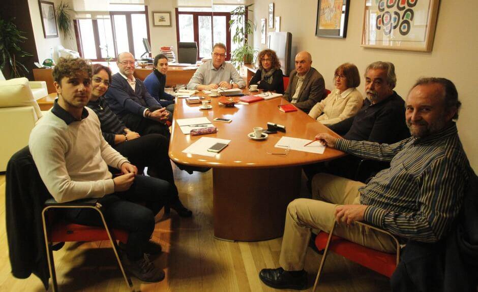 Reunión de La Izquierda con CCOO Madrid