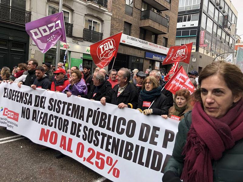 defensa del sistema publico de pensiones